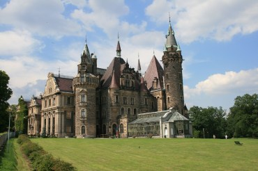 Schloss Moszna in Schlesien