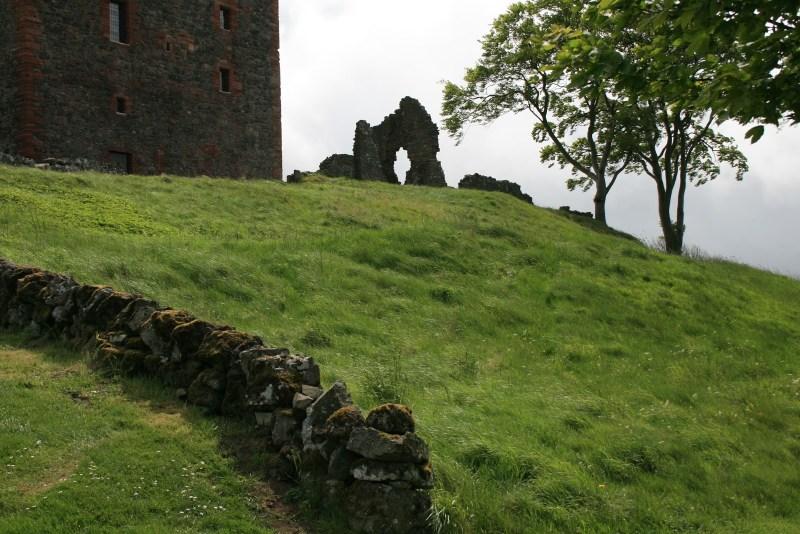 balvaird castle Ruin Ruine