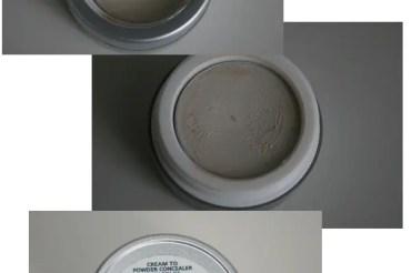 Farbloser Cream to Powder Concelaer von Alverde