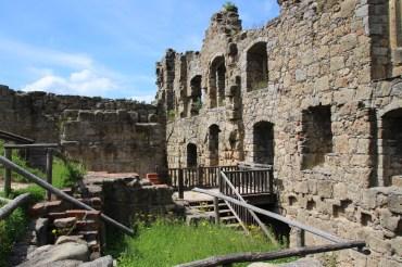 Klosterruine Oybin – auch bei Caspar David Friedrich zu sehen