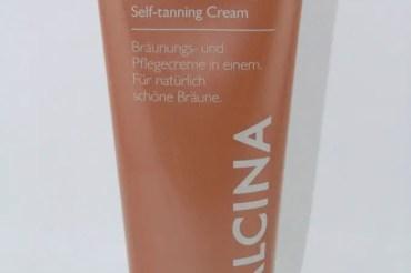 Selbstbräunungs-Creme von Alcina