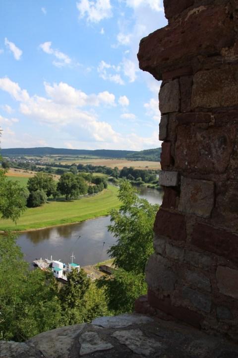 Polle, Burg Burgruine Aschenputtel Weser
