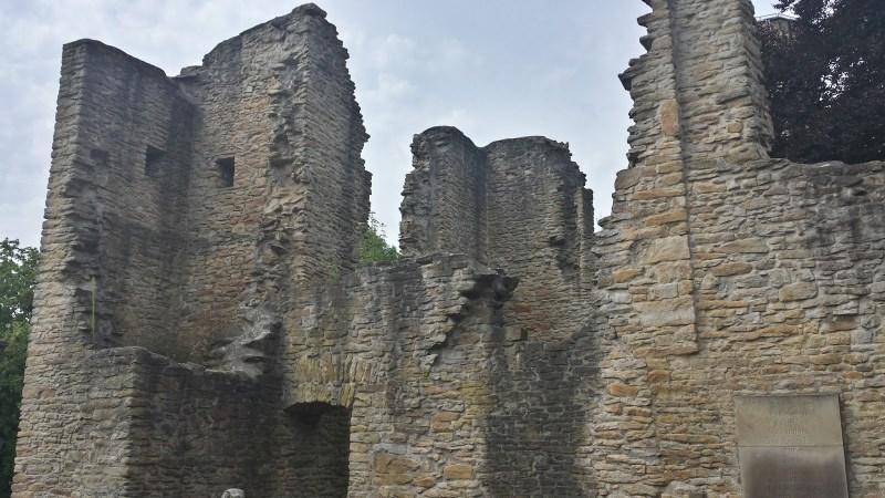 Hohensyburg Burgruine Dortmund Spukhaus