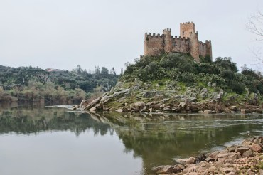 Templerburg Almourol, Portugal