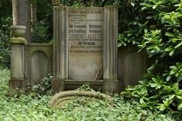 Alter Friedhof und botanischer Garten in Minden