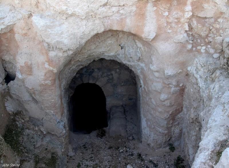 Unterirdische Gänge in Israel, Ruinen in Israel, Ruinen bei Bethlehem, Ruinen bei Jerusalem