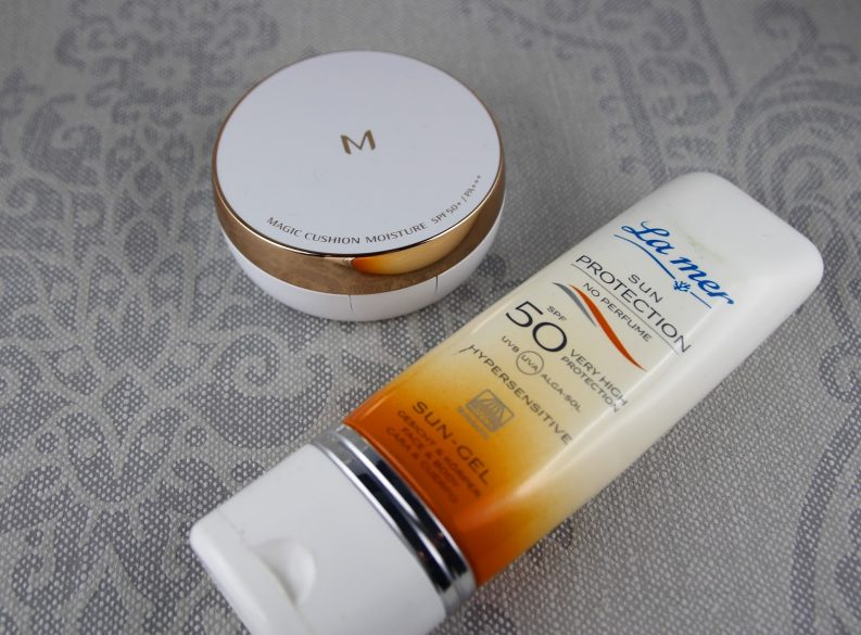 Magic-cushion-foundation-missha-spf-50-la-mer-sun-protection-Kosmetik-Zelten-Sonnenschutz-Inhaltsstoffe
