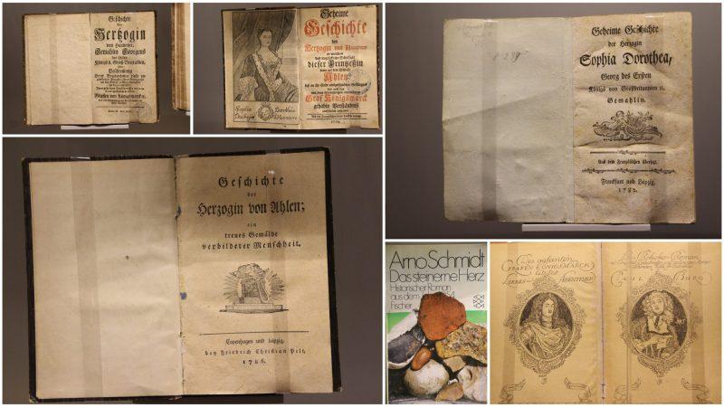 Literatur Königsmarck Affäre Sophie Dorothea
