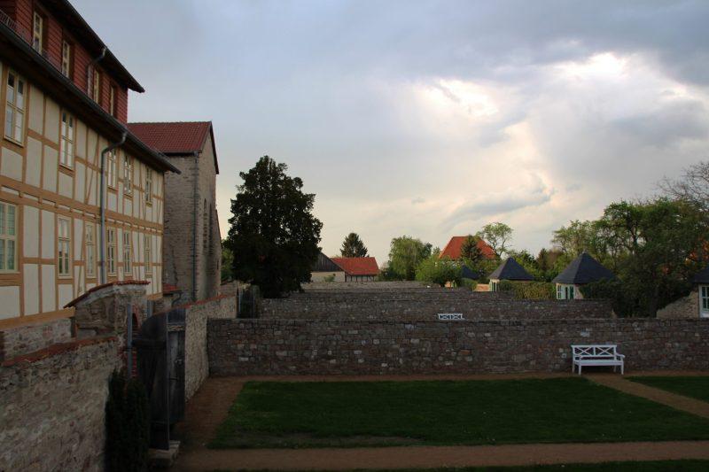 Kloster Drübeck, Garten, Gemüseanbau