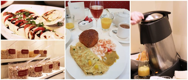 Yummy Breakfast, geniales Frühstück im Hotel, perfektes Frühstück, Sektfrühstück