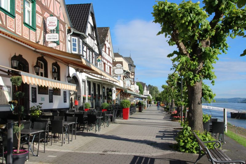 Bad Breisig, Rheinpromenade, Sehenswerte Städte am Rhein