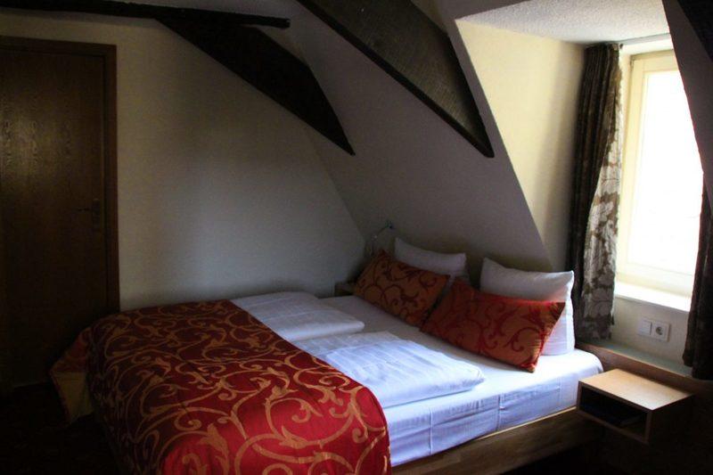 Zimmer im Romantik Hotel in Osnabrück, Walhalla Hotel
