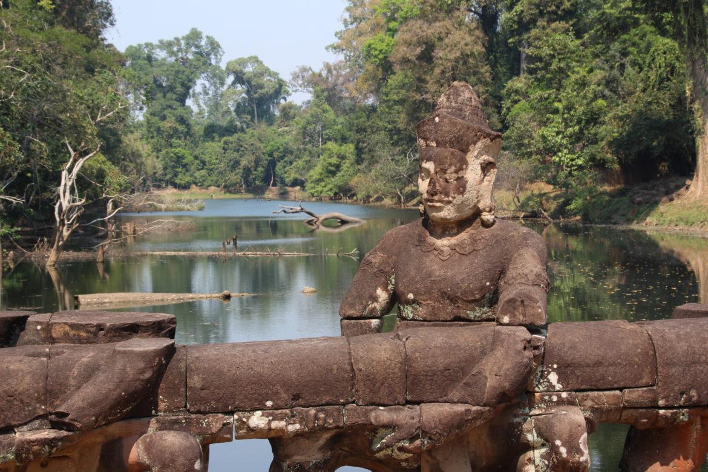 Angkor Wat, Angkor, Kambodscha, Tempelruinen