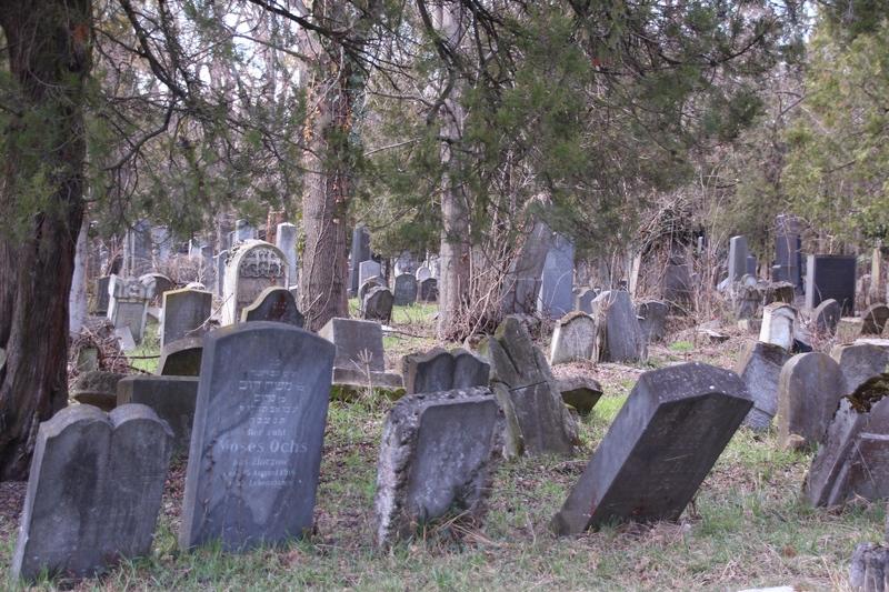 Alter Zentralfriedhof in Wien, jüdischer Friedhof