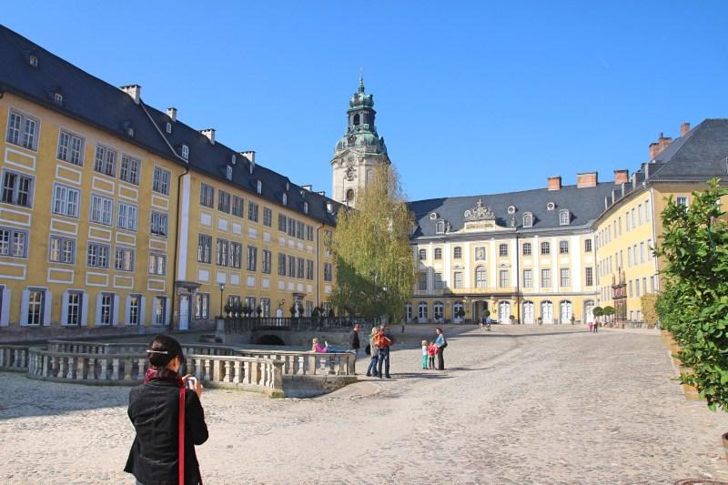 Rokoko en miniature, Schloss in Thüringen, Barockschloss in Thüringen