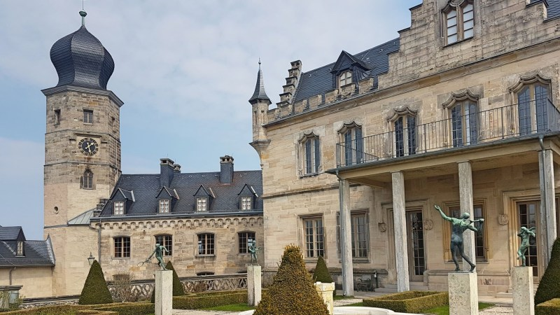 Schloss in Coburg, Nordfranken, Sehenswürdigkeiten