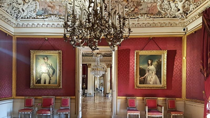 Innenräume von Schloss Ehrenburg