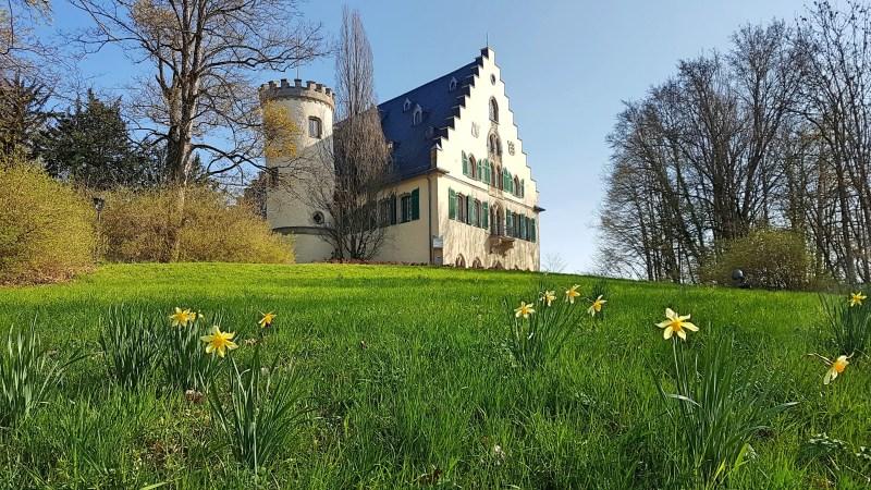 Schloss in Coburg, Schloss von Sachsen-Coburg, Rosenau, Nordfranken