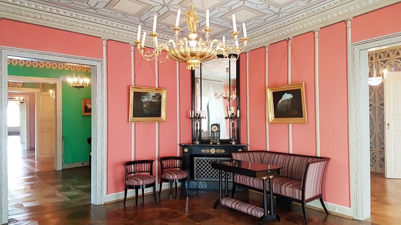 Innenräume von Schloss Rosenau