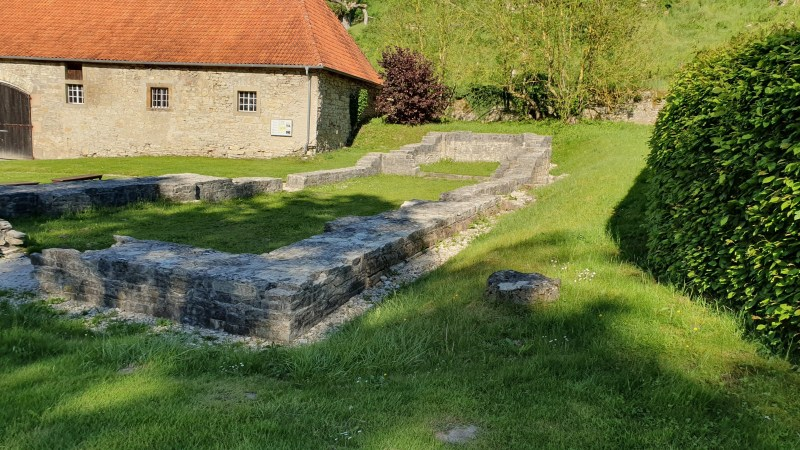 Ruine der Klosterkirche, Klosterruine in NRW