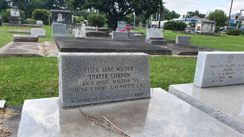 Friedhof Lafayette, Louisiana, Unsere kleine Farm, Laura Ingall