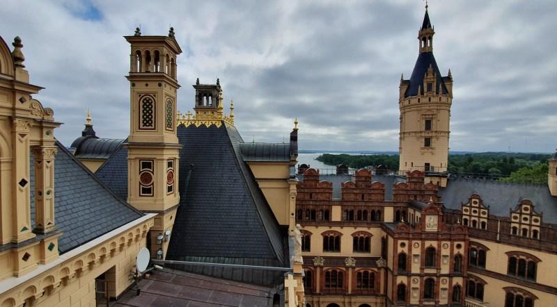 Dach des Schweriner Schlosses