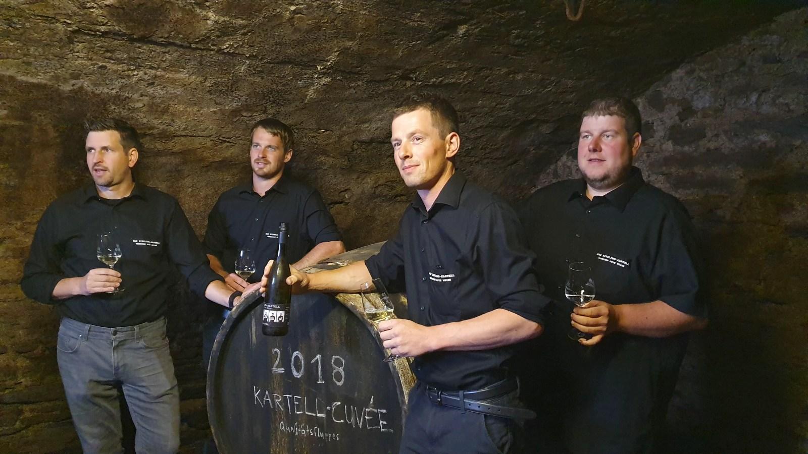 Die jungen Winzer des Riesling-Kartells - sie haben Deutschlands coolsten Wein kreiert.