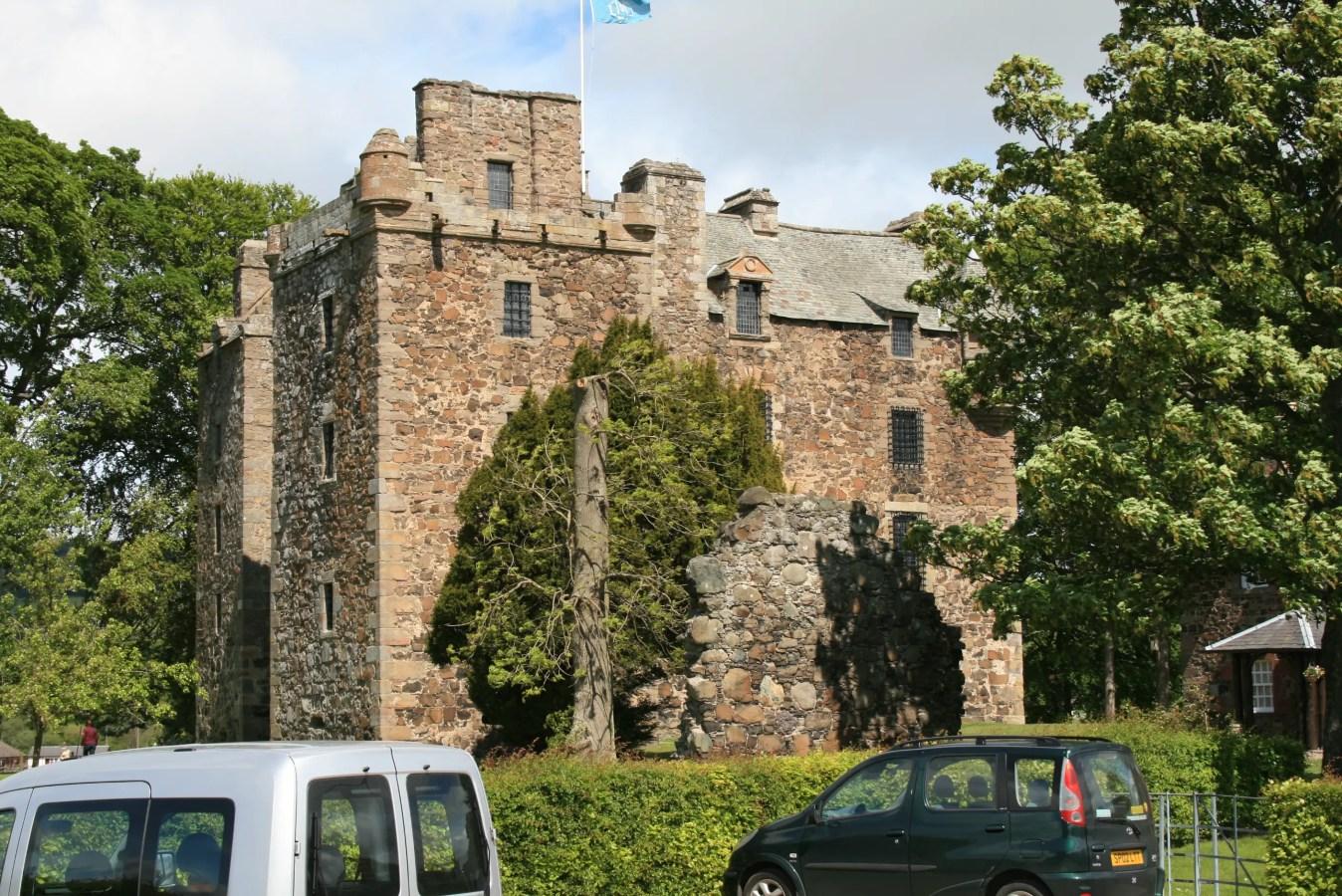 Gruselige Burgen in Schottland, Geisterburgen, Spukschloss in Schottland, Geisterschlösser in Schottland
