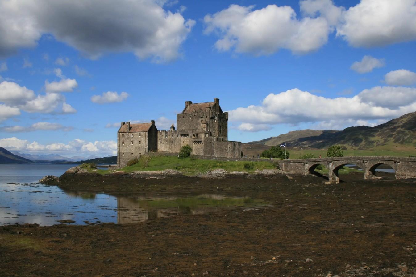 schottische Gespensterburgen, Gespensterschlösser, Sehenswürdigkeiten Schottland