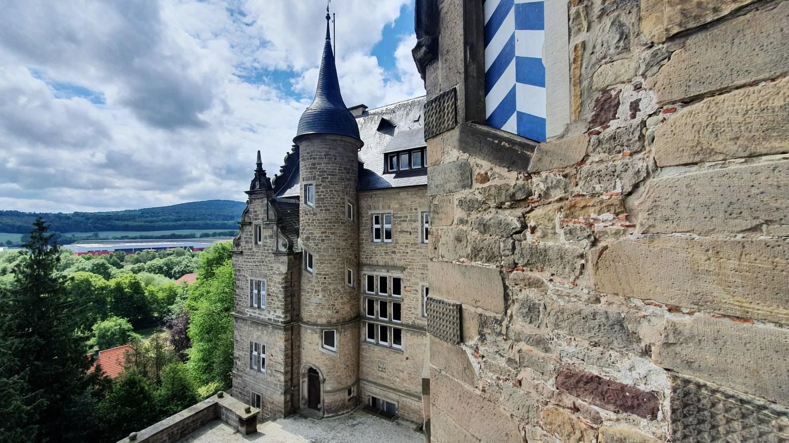 Burgen in Südniedersachsen, Burg Adelebsen, Burgruine, Schloss Adelebsen, Sehenswürdigkeiten bei Göttingen