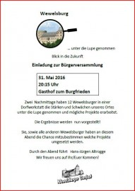 Bürgerversammlung 31MAI2016
