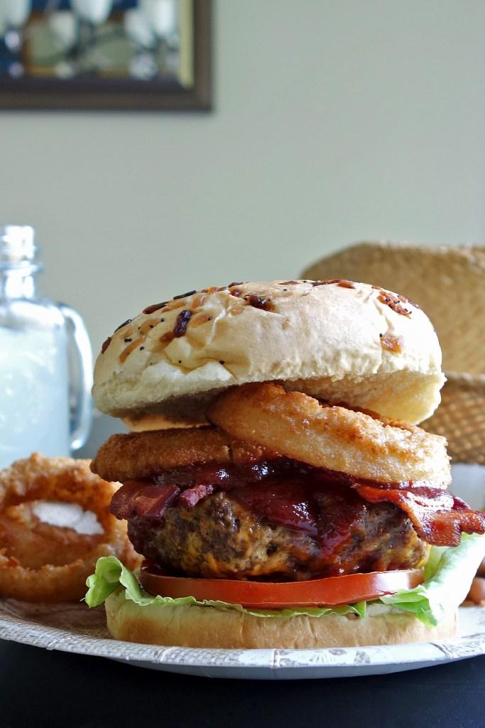Cowboy BBQ Burger recipe