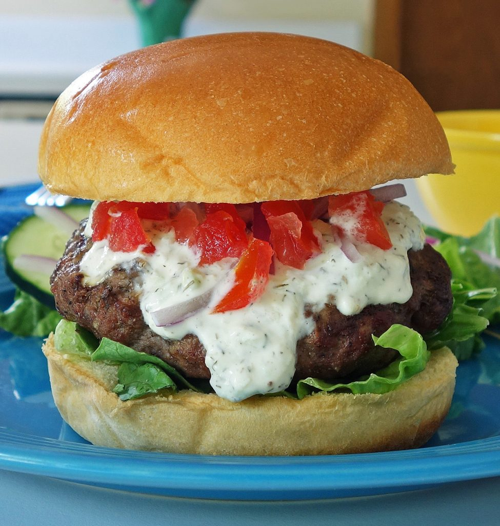 Gyro Burger Recipe