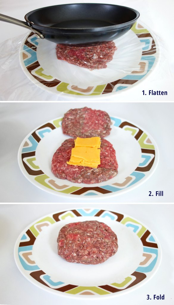 Steps to learn how to make a juicy lucy the delicious cheese stuffed burger | burgerartist.com