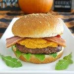 pumpkin spice burger