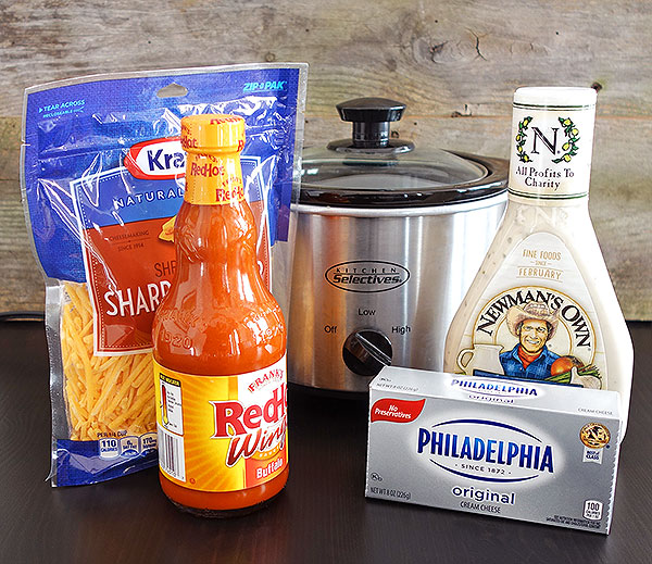 crockpot buffalo chicken dip ingredients