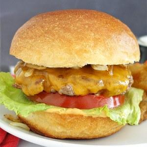 Smashed Diner Burger Recipe