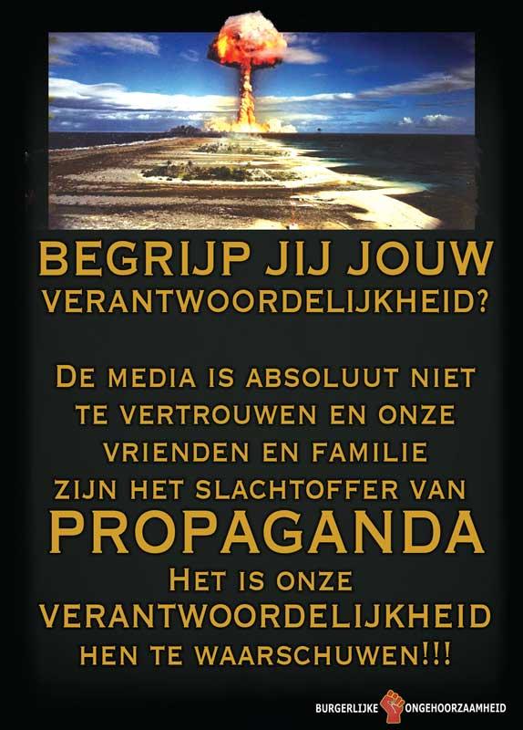 Begrijp jij jouw verantwoordelijkheid - WWIII komt eraan - Burgerlijke Ongehoorzaamheid