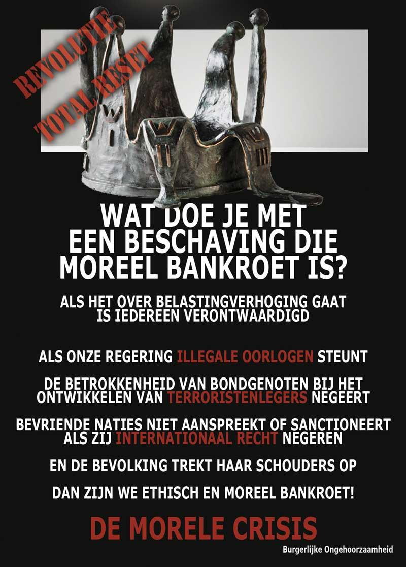Plutocratie. We worden bestuurd door de banken en de rijken.