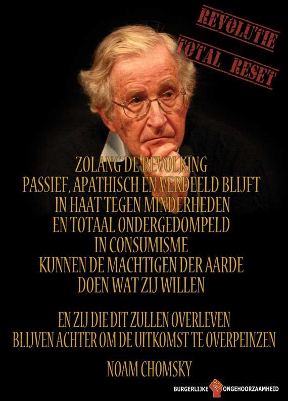 Noam Chomsky Overleven Burgerlijke Ongehoorzaamheid