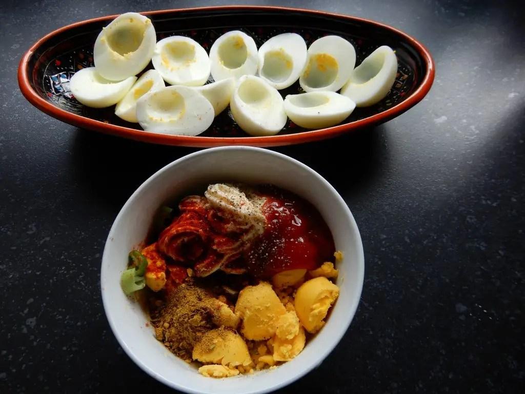 Gevulde eieren zonder pakjes en zakjes recept zelf maken BurgertrutjesNL