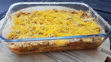 Recept lasagne met spitskool en gehakt, recepten met spitskool, makkelijk en snel