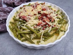 haricots verts ovenschotel recept zonder pakjes en zakjes