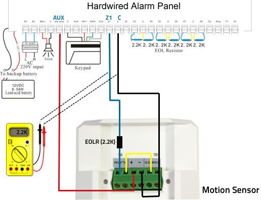 dsc motion detector wiring diagram 2006 volkswagen phaeton