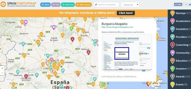 Burguera Lawyers on SpainStartupMap