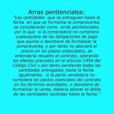 arras penitenciales