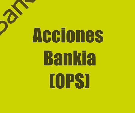 actions Bankia
