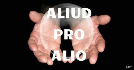 aliud pro alio