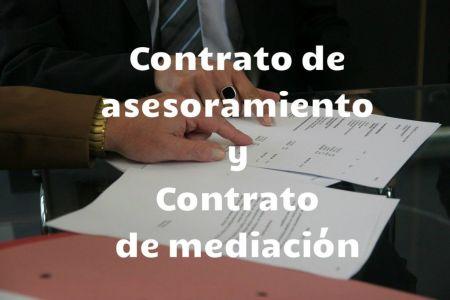contrato de asesoramiento y contrato de mediacion
