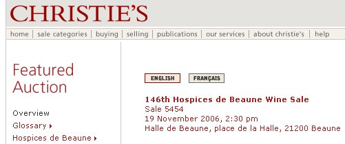 hospices christies